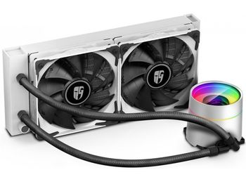 "AIO Liquid Cooling Deepcool ""CASTLE 240EX WHITE"