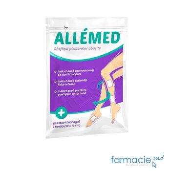купить AlleMed plasturi cu hidrogel 10 x 12 cm N 2 ( pu picioare obosite ) в Кишинёве