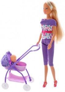 cumpără Simba păpuşa Steffi cu bebeluş, 29 cm în Chișinău