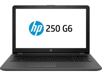 "HP 250 G6 Dark Ash Silver, 15.6"" HD +W10H (Intel® Core™ i3-7020U 2.3GHz, 4GB DDR4 RAM, 500GB HDD, Intel® HD Graphics 620, DVD-RW, CardReader, HDMI, VGA, WiFi-AC/BT4.2, 3cell, VGA Webcam, RUS, Win10 Home, 1.86 kg) +Bag"