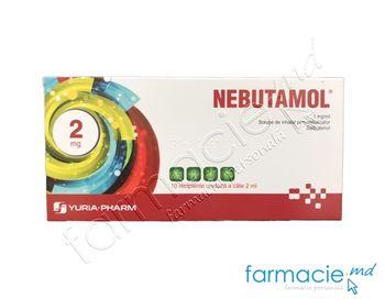купить Nebutamol® sol. de inhalat prin nebulizator 1 mg/ml  2 ml N10 в Кишинёве