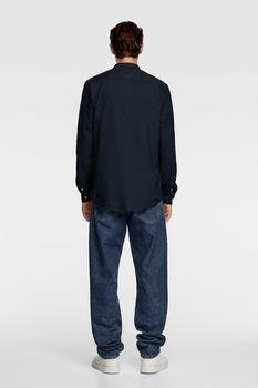 Рубашка ZARA Темно синий 8211/311/401.