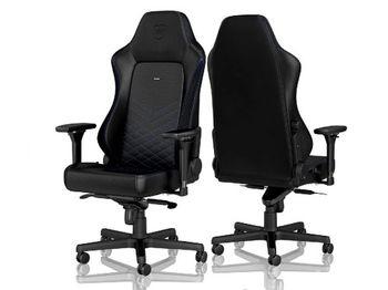 Игровое кресло Noble Hero NBL-HRO-PU-BBL Black / Blue,