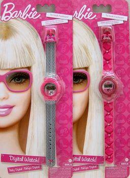 Barbie Часы с 5 функциями
