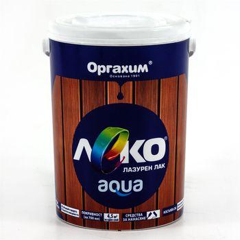 Оргахим Лак Leco aqua Тик 0.7л