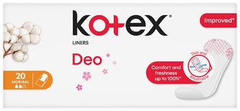 купить Ежедневные прокладки Kotex Normal Deo 20 шт. в Кишинёве