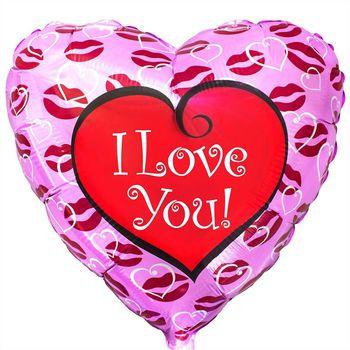 купить Сердце - I Love You - Поцелуй в Кишинёве