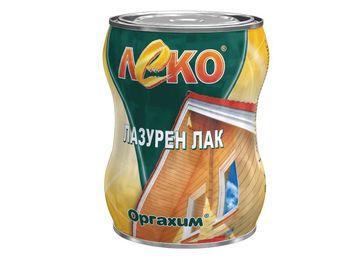 Оргахим Лак Леко Лазурен Палисандр 0,65л