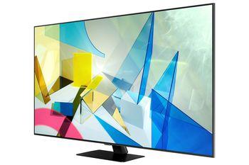 "купить Televizor 65"" LED TV Samsung QE65Q80TAUXUA, Black в Кишинёве"