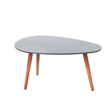купить Деревянный стол с черной поверхностью, 1160x650x450 мм в Кишинёве