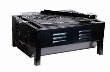 купить Барбекю прямоугольный 49X30.5X30cm разборный, с решеткой в Кишинёве
