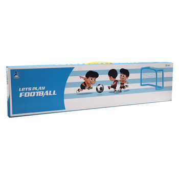 Ворота футбольные пластиковые детские 152x82x62 см 25080 (4554)