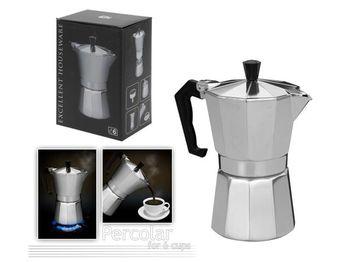 Ibric de cafea pentru 6 cani EH, din aluminiu