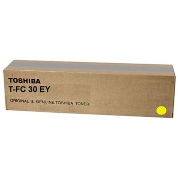 Toner Toshiba T-FC30EY Yellow, (xxxg/appr. 28 000 pages 10%)  for e-STUDIO 2051C/2551C/2050C/2550C