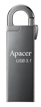 купить 128GB Flash Drive Apacer AH15A Dark Gray в Кишинёве