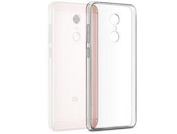 770013 Husa Screen Geeks Ultra thin Xiaomi Redmi 5 Plus TPU Transparent (чехол накладка в асортименте для смартфонов Xiaomi, силикон, цвет прозрачный)