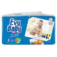 Evy Baby подгузники 3