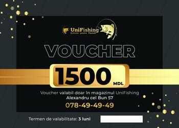 Voucher cadou în valoare 1500 Lei
