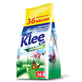 cumpără Praf pentru spalarea rufelor  Herr Klee C.G Universal 3 kg, 36 spalari în Chișinău
