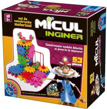 Строительный набор Micul inginer (53 дет.), код 41307
