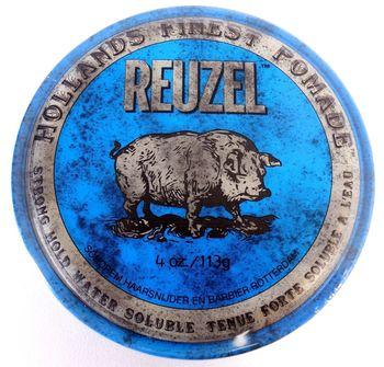 купить REUZEL BLUE STRONG HOLD HIGH SHEEN POMADE 113G в Кишинёве