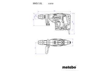 cumpără Ciocan demolator Metabo MHEV 5 BL în Chișinău