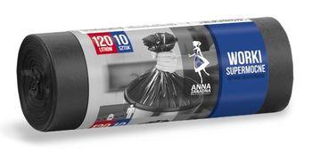 Пакеты для мусора 120л. 10шт. Anna Zaradna