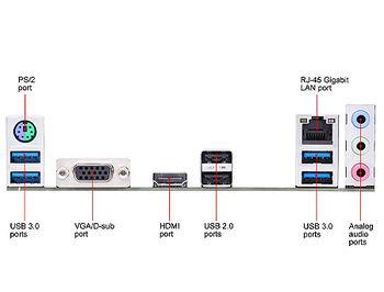 Placa de baza ASUS PRIME A520M-K AMD A520, AM4, Dual DDR4 4600MHz, PCI-E 3.0 x16, D-Sub/HDMI 2.1, USB 3.2, SATA RAID 6Gb/s, M.2 x4 Socket, SB 8-Ch., GigabitLAN, LED lighting, (placa de baza/материнская плата)