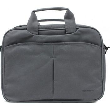 """13.3"""" NB Bag - CONTINENT CC-014 Grey, Top Loading"""
