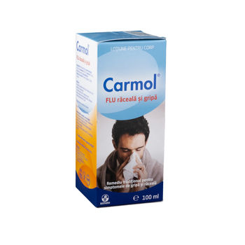 cumpără Carmol Flu lotiune p/u corp antiraceala 100ml în Chișinău