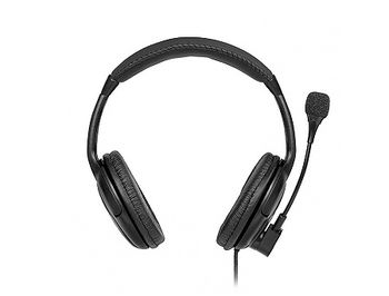 SVEN AP-675MV, Stereo headphones with microphone, Volume control, 2*3.5 MM (3 PIN), Black