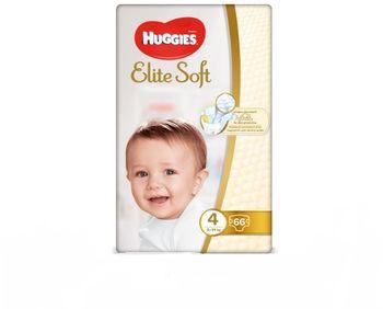купить Подгузники Huggies Elite Soft 4 (8-14 кг) 66 шт в Кишинёве