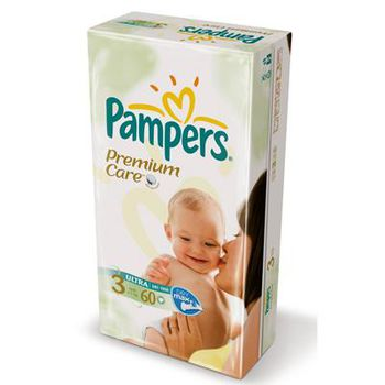 PAMPERS  PREMIUM CARE 3 (4-9 kг) (60 шт.)
