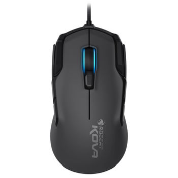ROCCAT Kova (Grey) / Pure Performance Gaming Mouse, up to 3500dpi (7000dpi with Overdrive Mode), 12 programmable buttons, Pro-Optic (R6) sensor, 16.8M Multi-color illumination, ARM MCU+ onboard memory, EASY-SHIFT[+]™, USB