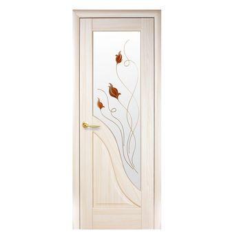 Новый Стиль Дверное полотно Амата ясень 200х60см