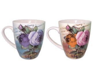 """купить Чашка с узором """"цветы"""" 330ml в Кишинёве"""