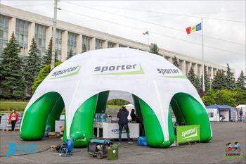 cumpără Cort cu carcasa gonflabila ∅10m. în Chișinău