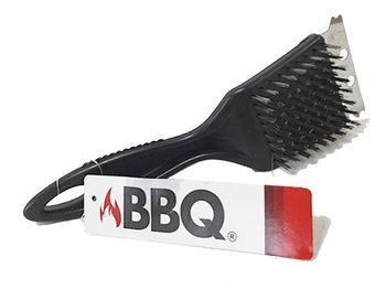 Щетка для чистки гриля BBQ, нержавеющая сталь