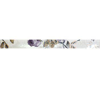 Keros Ceramica Фриз Secret Dove Gris 5x70см