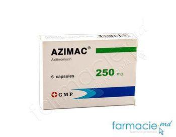 cumpără Azimac® caps. 250 mg N3x2 în Chișinău