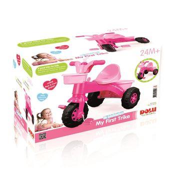 Трехколесный велосипед, розовый, код  41500
