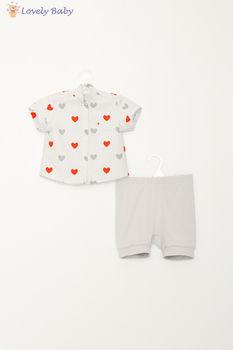 Set S16 cu inima rosu