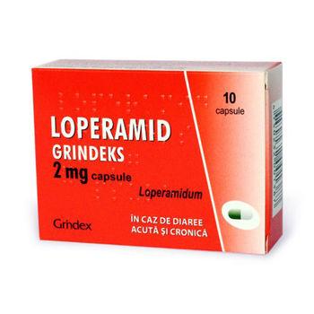 cumpără Loperamid 2mg caps. N10 (Grindex) în Chișinău