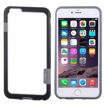 Бампер Пластик + Силикон для iPhone 6 черный