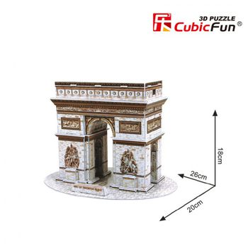 cumpără CubicFun puzzle 3D Queen Triumphal Arch în Chișinău