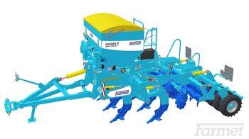 купить Digger 3 N-P - глубинный культиватор 7 лап (2,9 метра) с дополнительным катком - Фармет в Кишинёве
