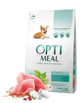 купить Optimeal для щенков всех пород - индейка ,12кг в Кишинёве