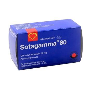 cumpără Sotagamma 80mg comp. N10X10 în Chișinău