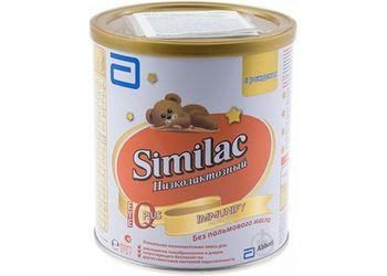 Молочная смесь Similac Низколактозный с 0 месяцев, 375г