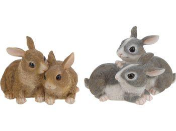 Пара зайцев декоративных H11cm